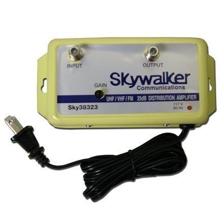 Skywalker Signature Series Sky38323 25db Amplifier Vhfuhffm Wvariable Gain (sky38323)