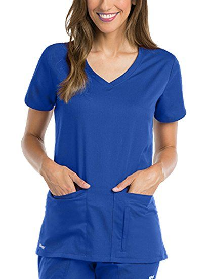 1a411fdf72b Amazon.com: Grey's Anatomy Active Women's Side Panel V-Neck Solid Scrub:  Clothing #amazonaffiliate