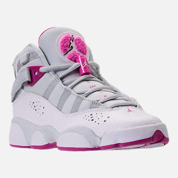 the best attitude 8f375 63283 Nike Girls  Grade School Jordan 6 Rings (3.5y-9.5y) Basketball Shoes