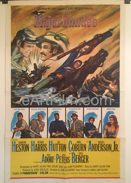 Watch Major Dundee Full-Movie Streaming