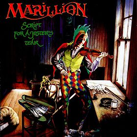 Marillion Script For A Jester S Tear Rock Album Covers Album Art Classic Album Covers