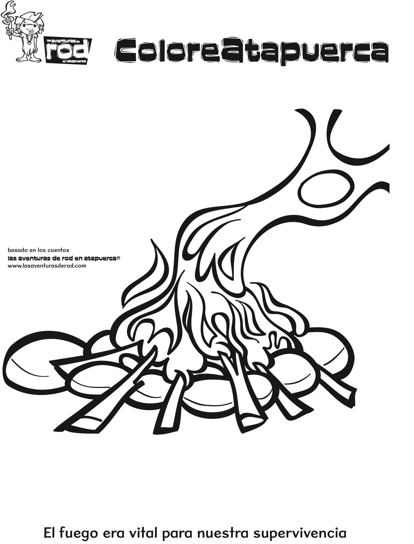 12-dibujos-para-colorear-prehistoria-fuego.jpg (2322×3054 ...