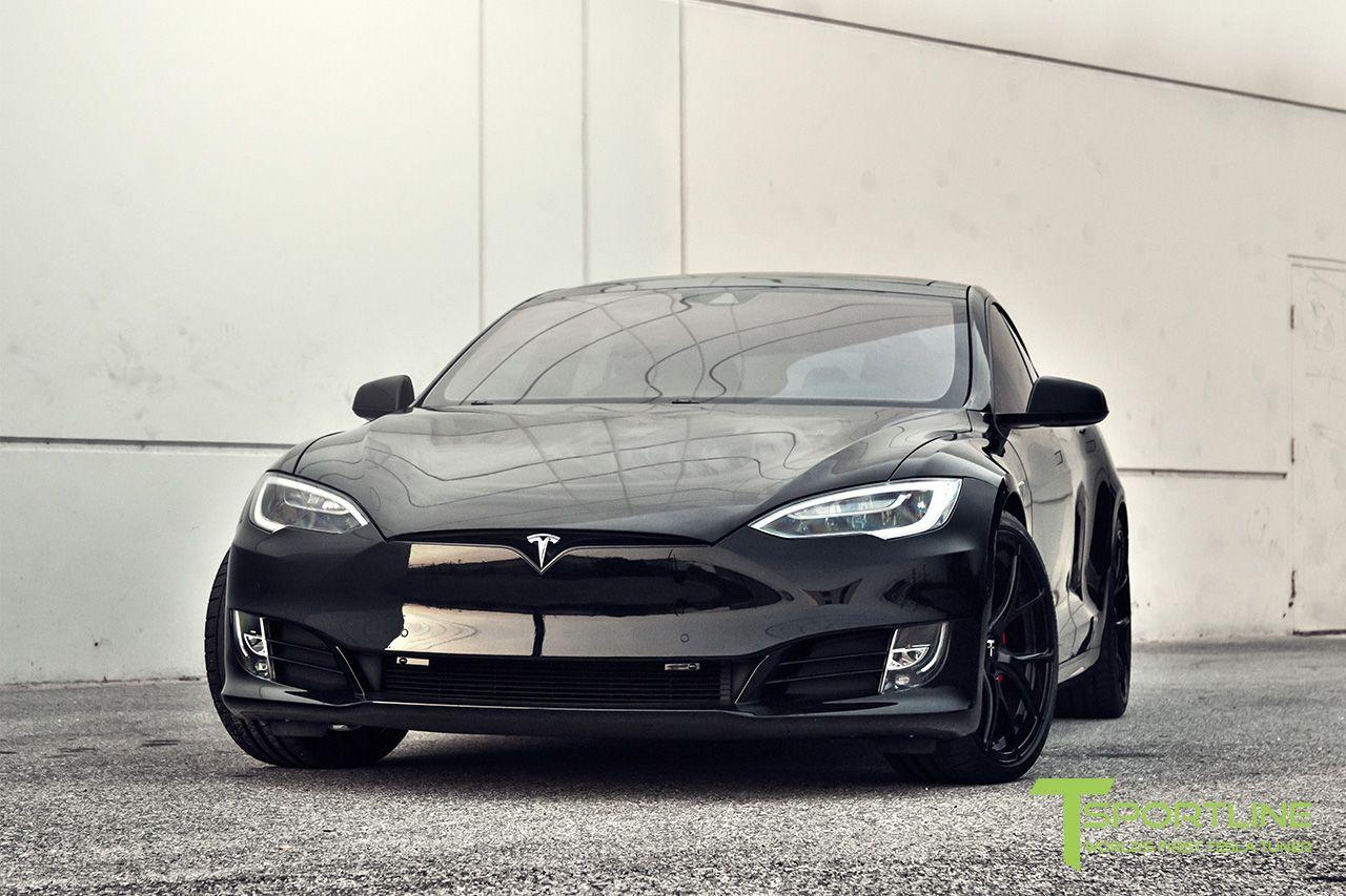 Black Tesla Model S Ferrari Rosso Interior Tesla Model S Tesla Model S Black Tesla Model