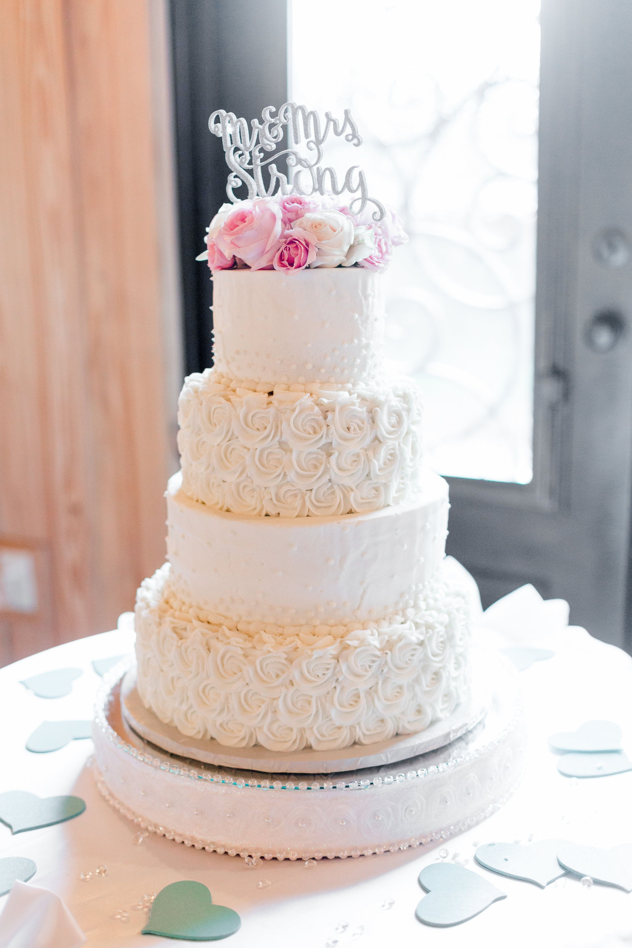 Wedding Venue Locations in Texas and Oklahoma | Floral cake, White ...