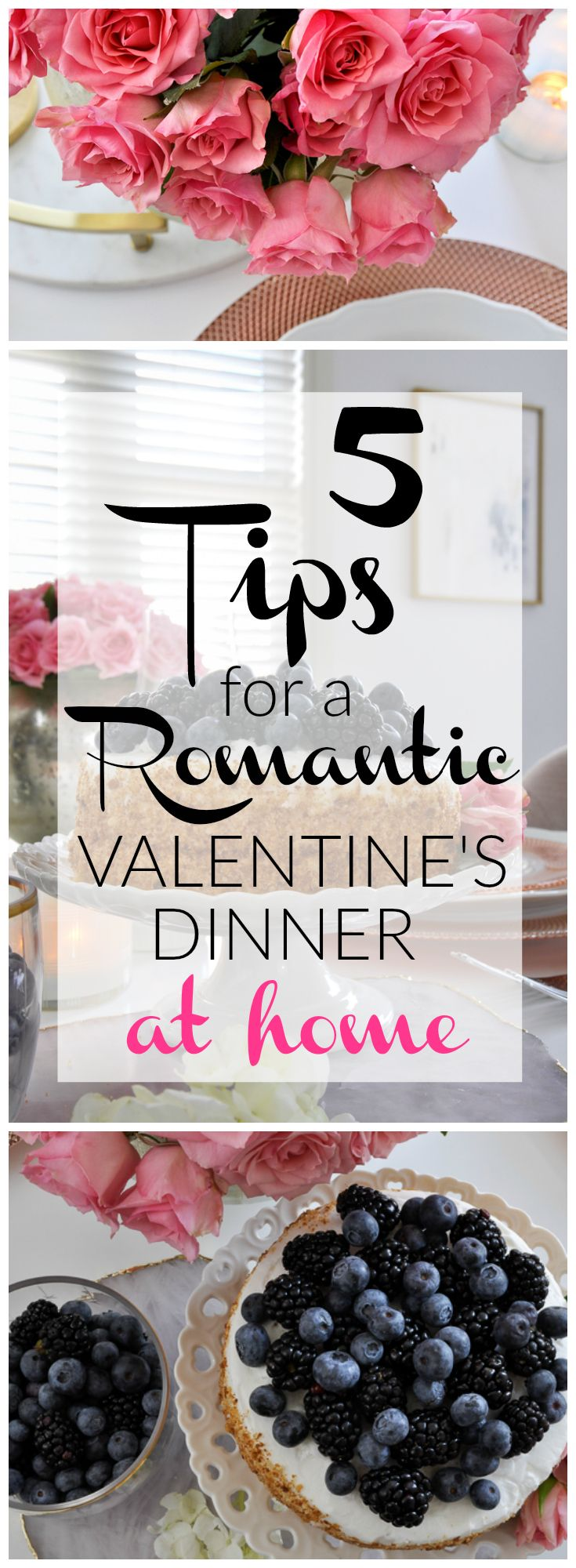 Tips for a Romantic Vanlentine\'s Day at Home by | Romantic
