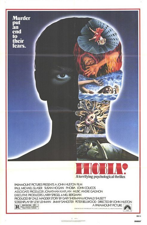 Phobia 1980 Best Movie Posters Horror Movie Posters Poster