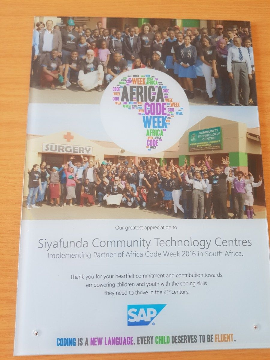 Siyafunda Community Technology Centre Technology Capacity Building Core Values