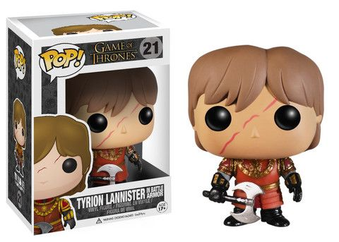 Pop! TV: Game of Thrones - Tyrion Lannister w/Scar Battle Armour | Funko