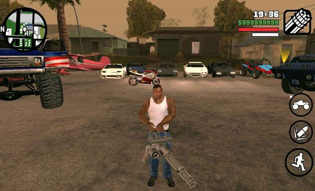 gta sa mods android apk obb