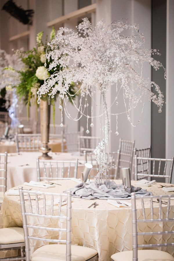 winter wonderland wedding table ideas%0A A Black Tie Museum Wedding on New Years Eve  Tree CenterpiecesWedding  CenterpiecesWinter Wonderland