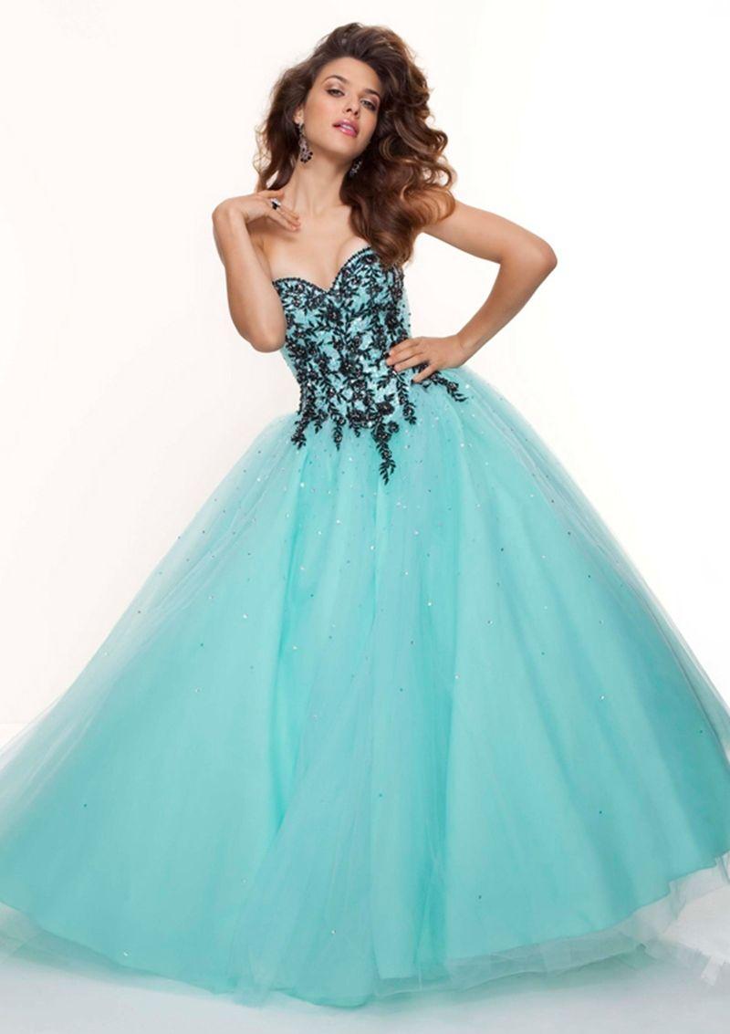 vestidos de debutantes azul com dourado - Pesquisa Google | Festa ...