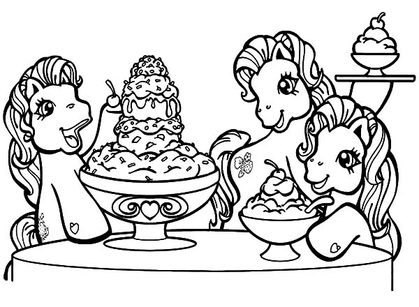 Pony Cartoon My Little Pony Coloring Pages Wecoloringpage.com ... | 440x600