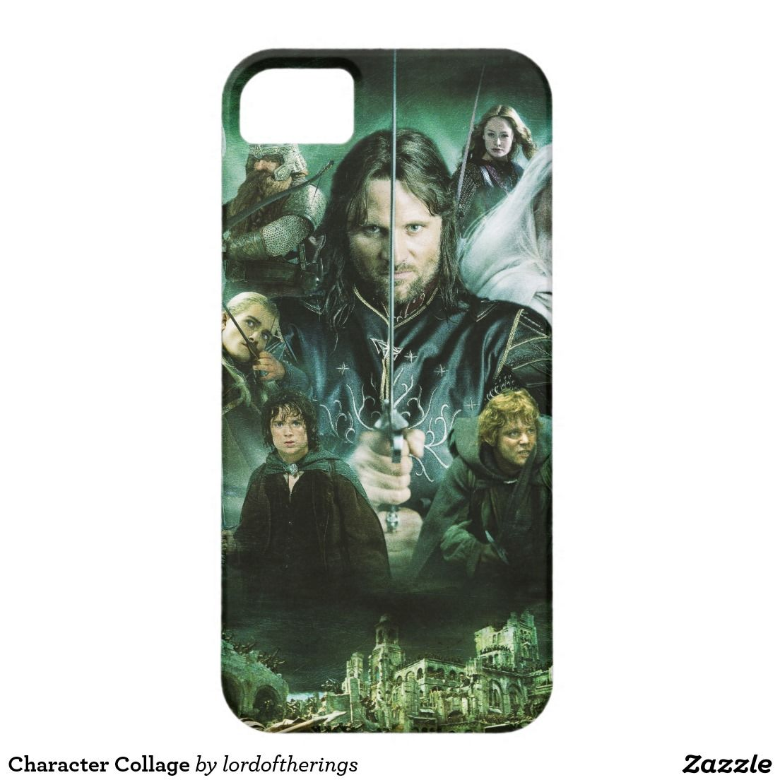 Character Collage Case-Mate iPhone Case