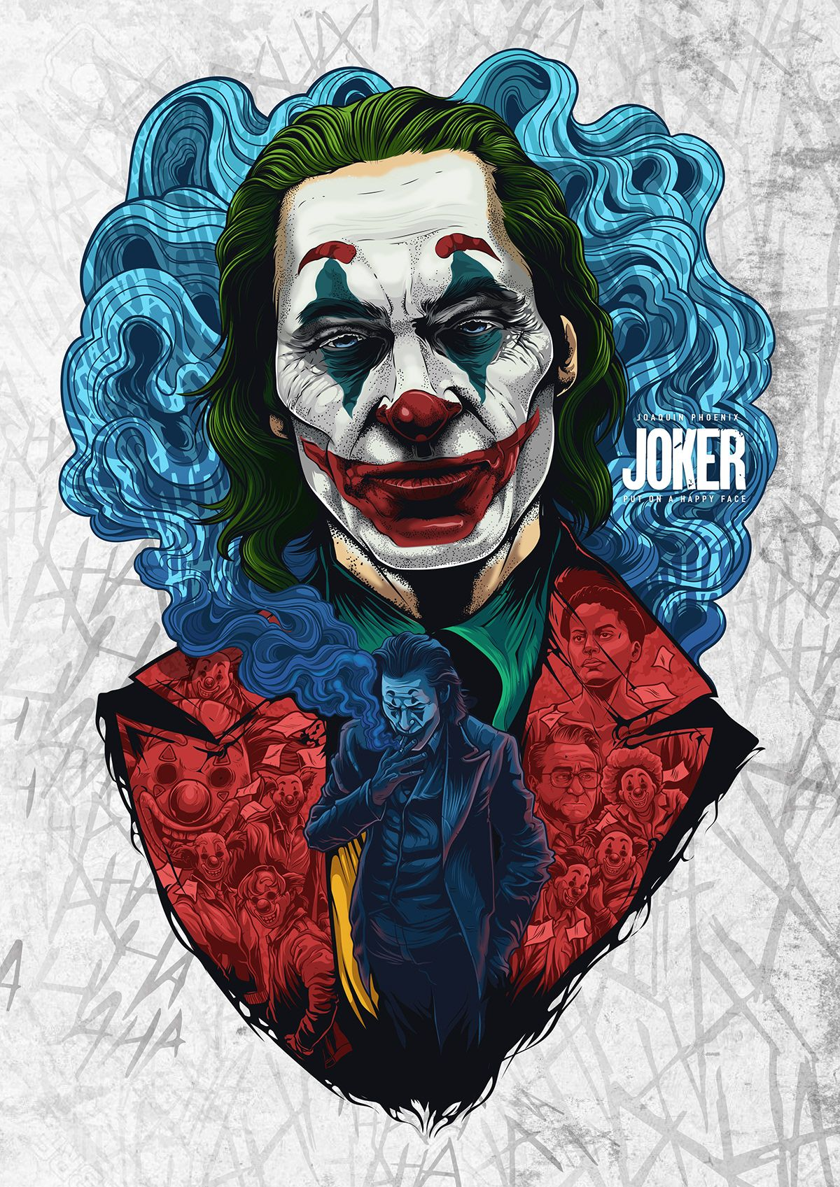 Careers Joker art, Joker drawings, Joker poster