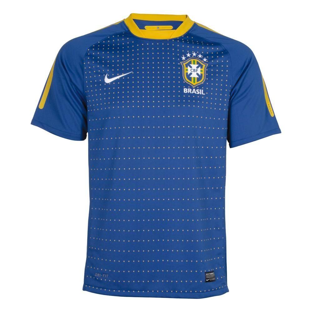Seleção Brasileira Uniforme 2 2010  51d9ad8b7e5b0