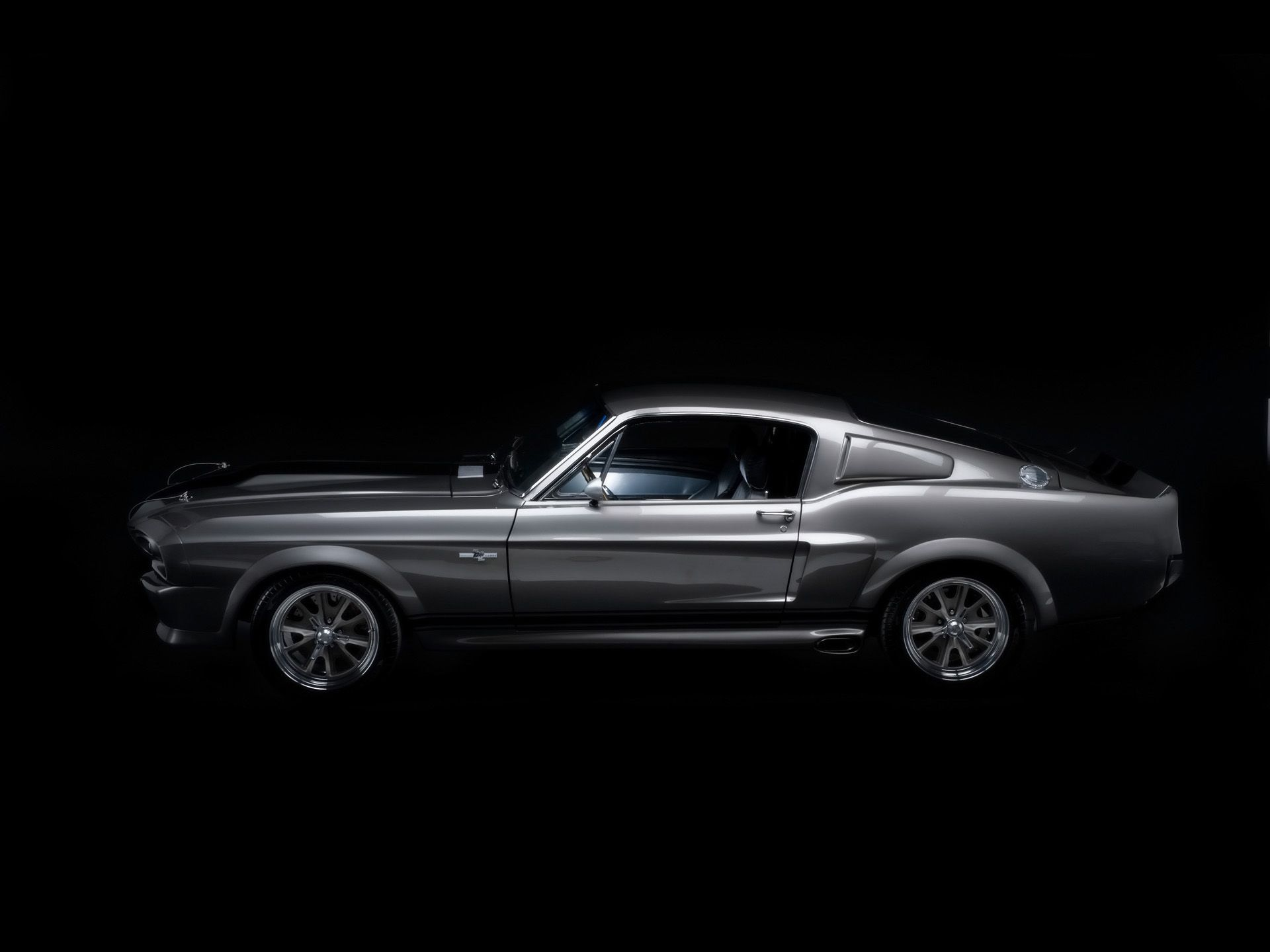 1967 Mustang Fastback Gone In 60 Seconds Eleanor Side 1