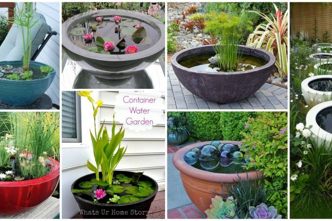 20 Decorative Garden Water Containers For This Summer