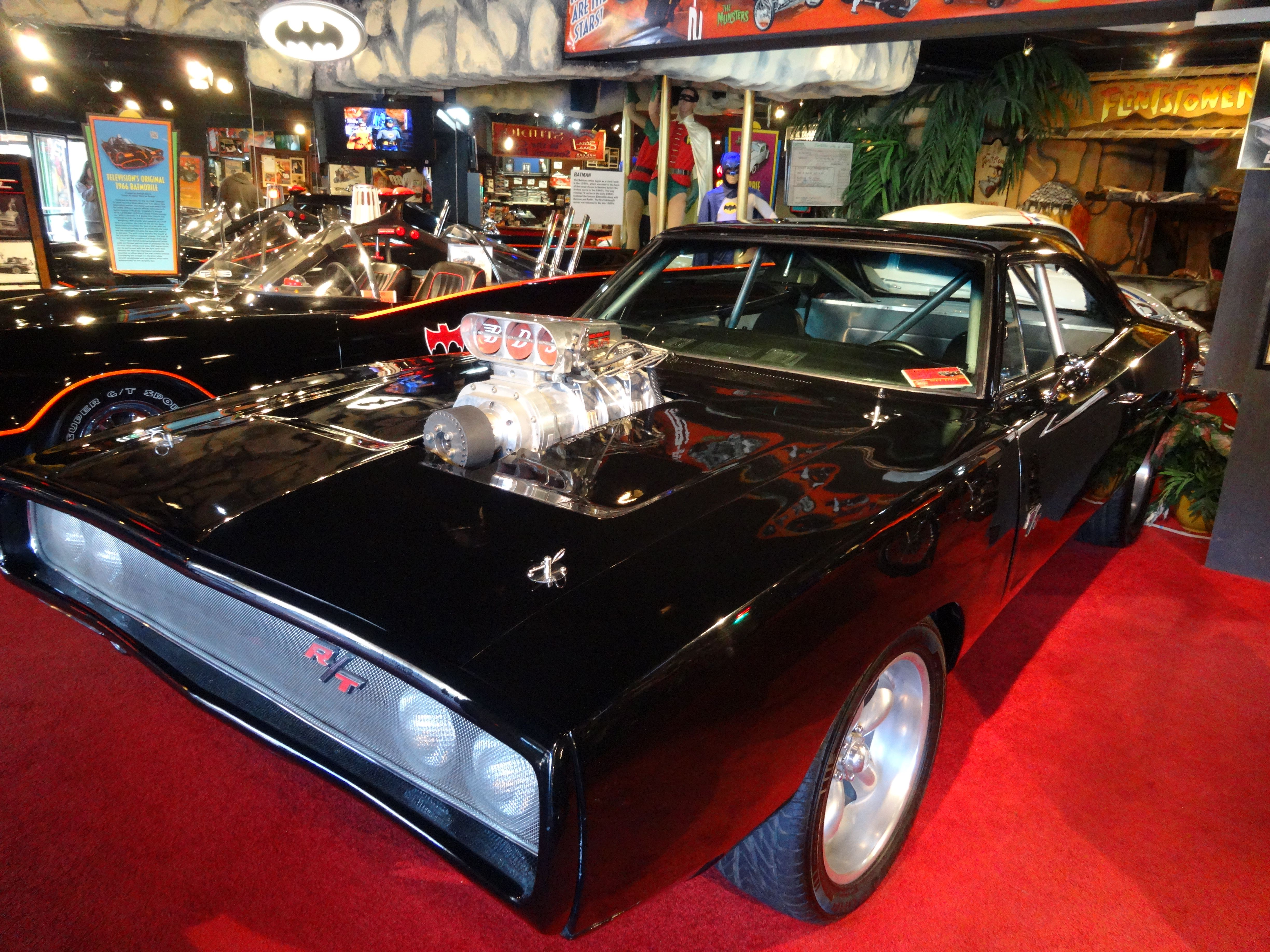 Hollywood star cars museum gatlinburg tn 1970 dodge charger r t from