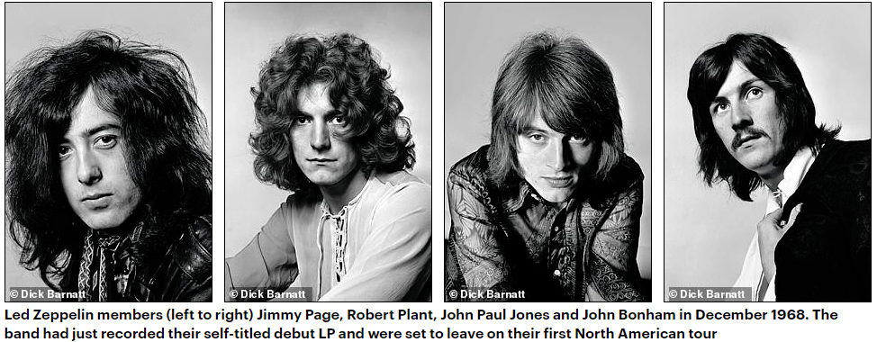 Never-seen-before pictures show Led Zeppelin through the years ...