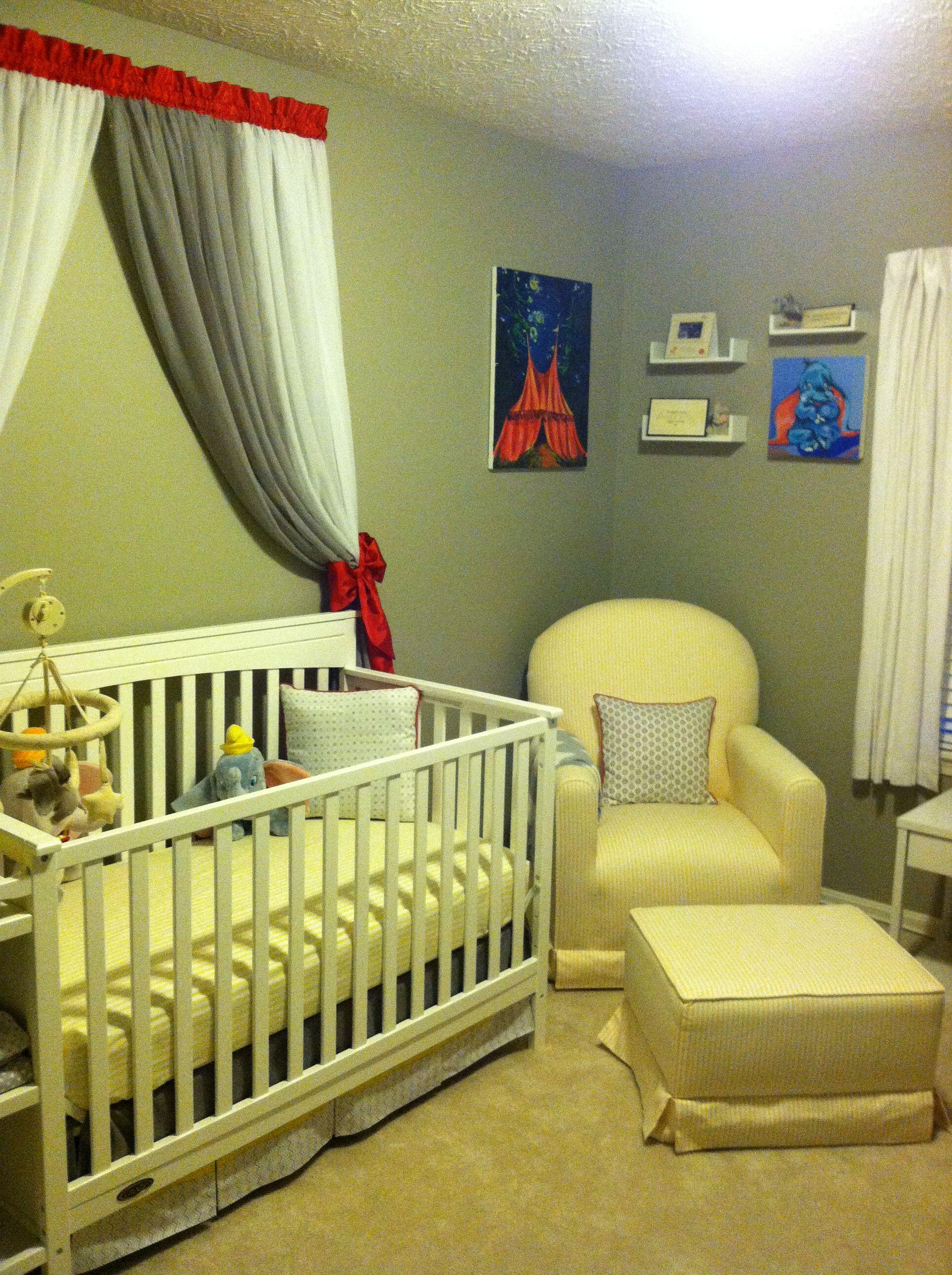 Circusdumbo Themed Baby Nursery