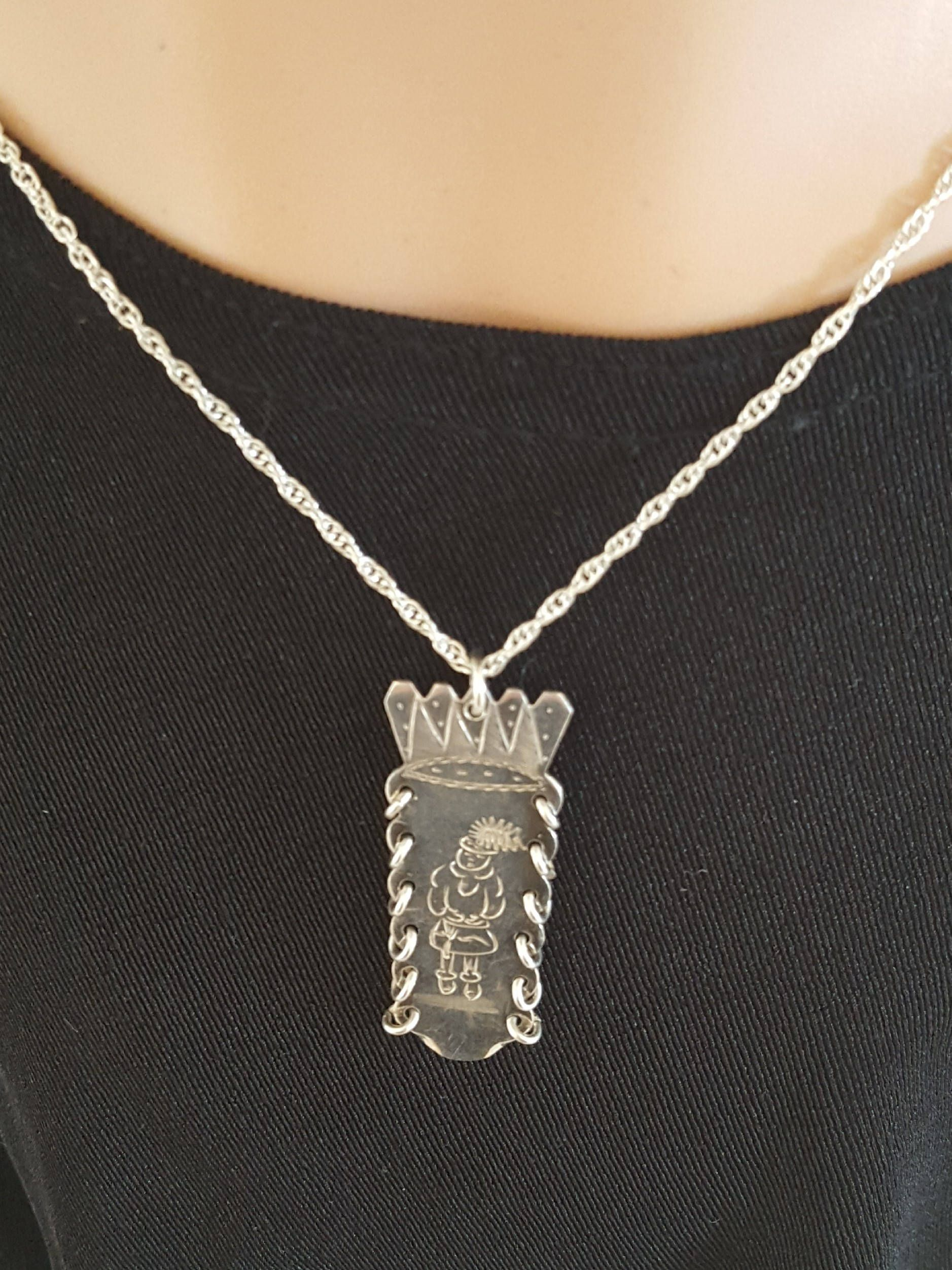 Jewelry Necklace Women's Sterling Silver Necklace Sterling