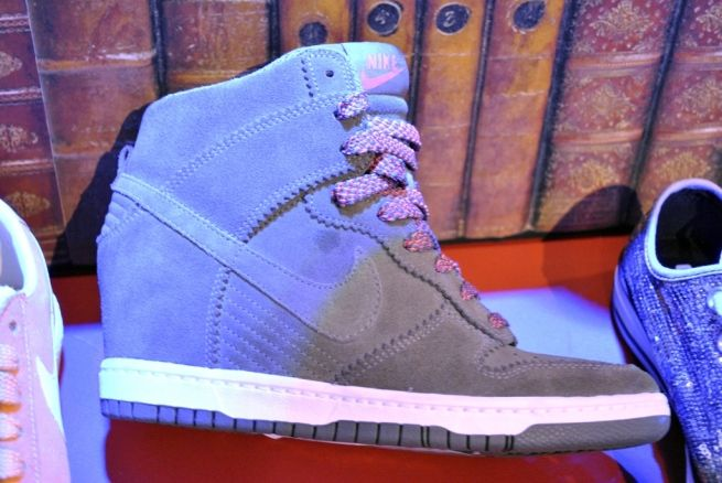 Schuh shoes AW'12 nike suede wedge hi tops whisty