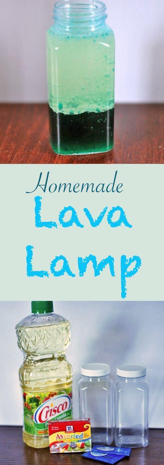 DIY Homemade Lava Lamp