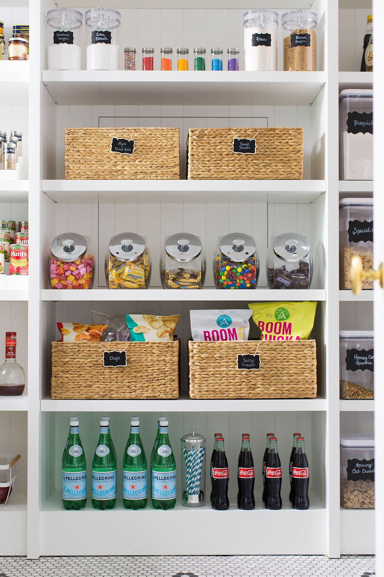 The Smartest Way To Organize Your Pantry Pantry Organization Pantry Storage Container Store