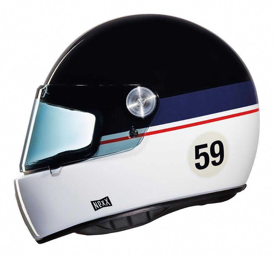 33197f2a Nexx xg100r helmet - record black / grey   Motos   Helmet, Riding helmets,  Modern cafe racer