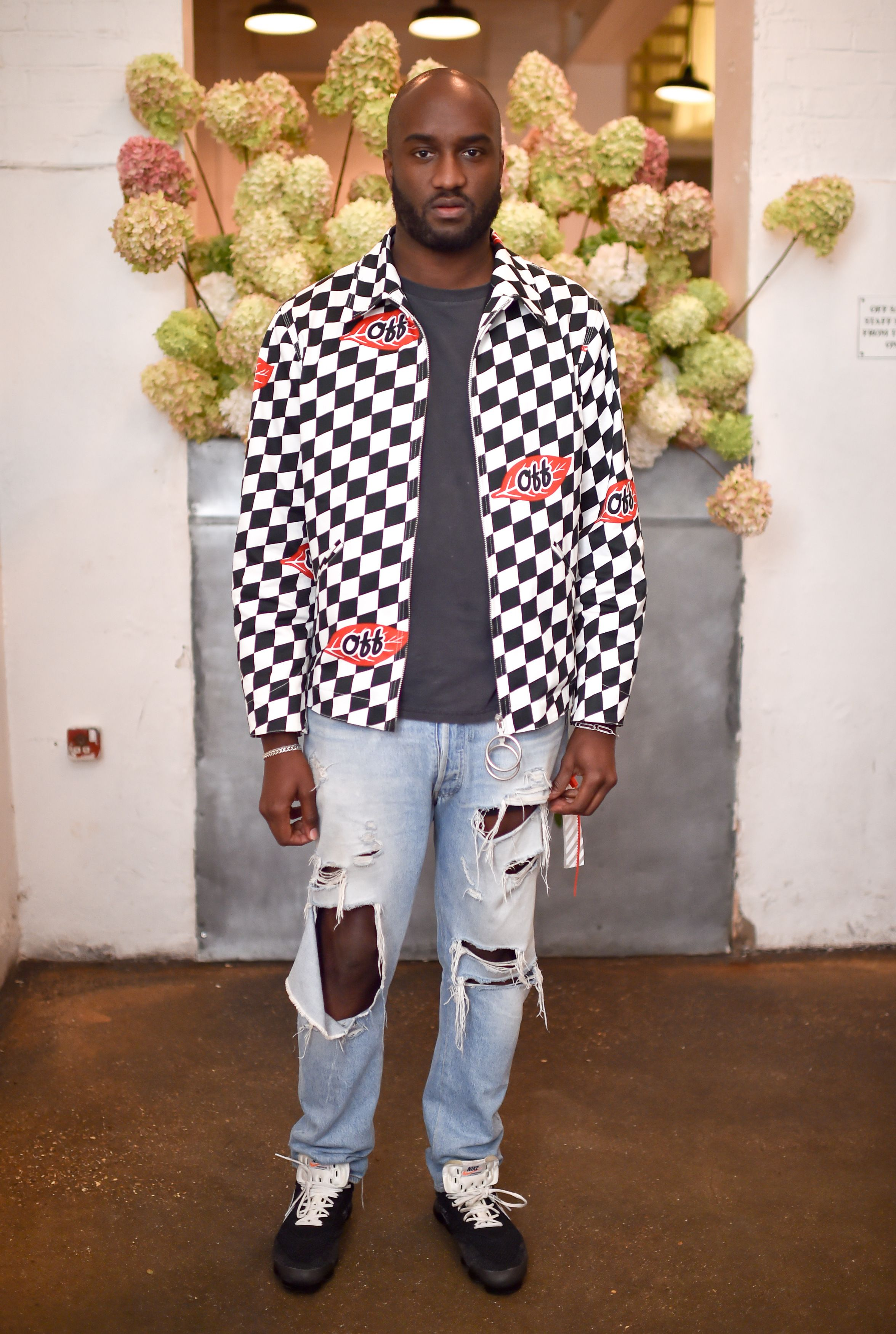 Off-White creative director Virgil Abloh for a memorable evening. -    mytheresa.com 8ebf007ad