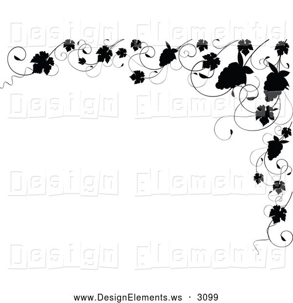 elegant borders clip art design element clipart of a