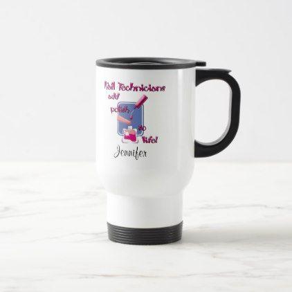 Nail Technicians Mug Beautiful Gift Idea Present Diy Cyo