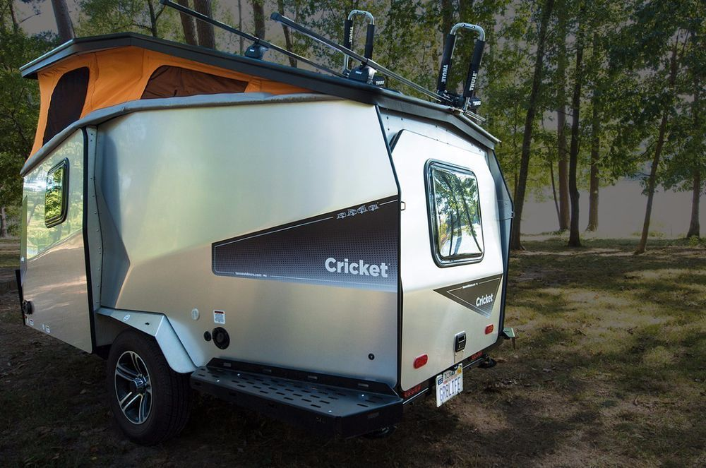 5 Cool Camper Trailers You Can Buy Right Now Small Camper Trailers Small Campers Camping Trailer For Sale
