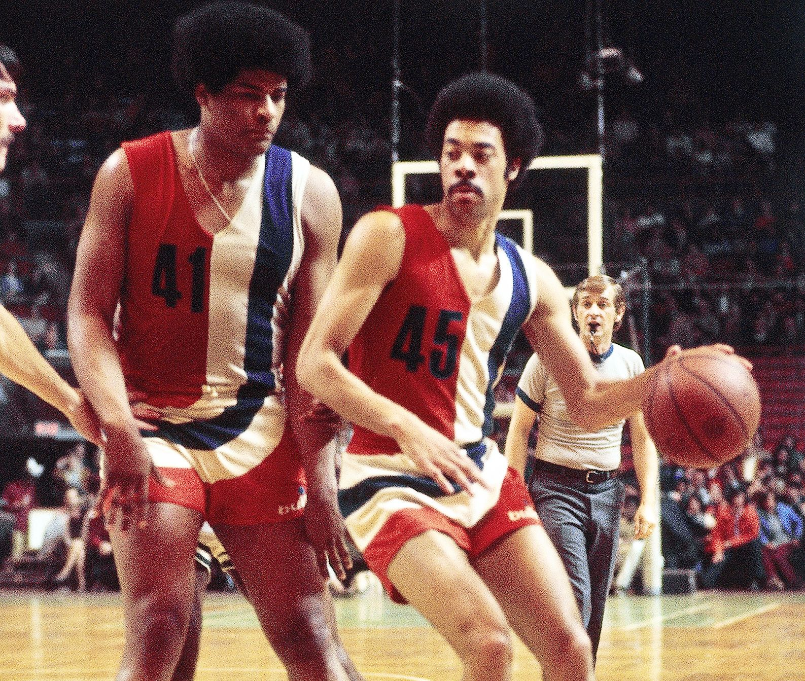 Wes Unseld and Phil Chenier NBA Pinterest