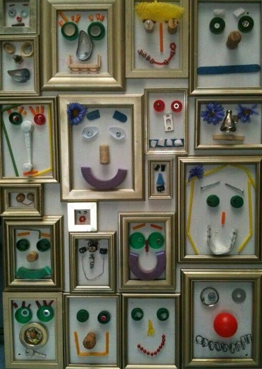 Self Portraits with loose parts