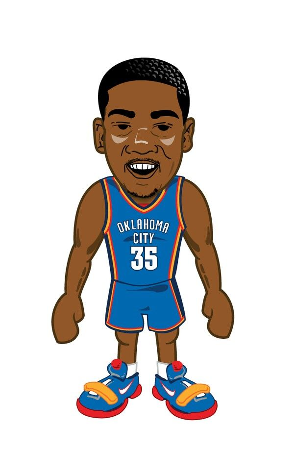 Kd in cartoon KD35 Kevin durant, Drawing wallpaper