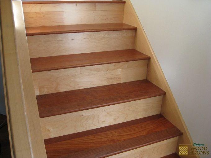 Best American Cherry Stair Works Wood Stair Treads Wood 400 x 300