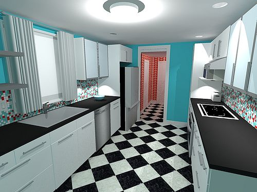 Google Sketchup Ikea Kitchen By Jennyology Via Flickr For The Home Pinterest The O 39 Jays