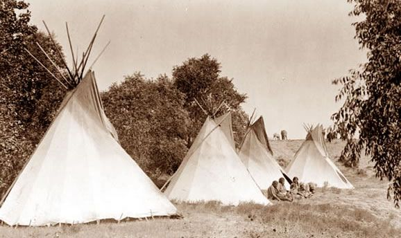 A tepee is made of a cone-shaped wooden frame with a covering of buffalo & A tepee is made of a cone-shaped wooden frame with a covering of ...