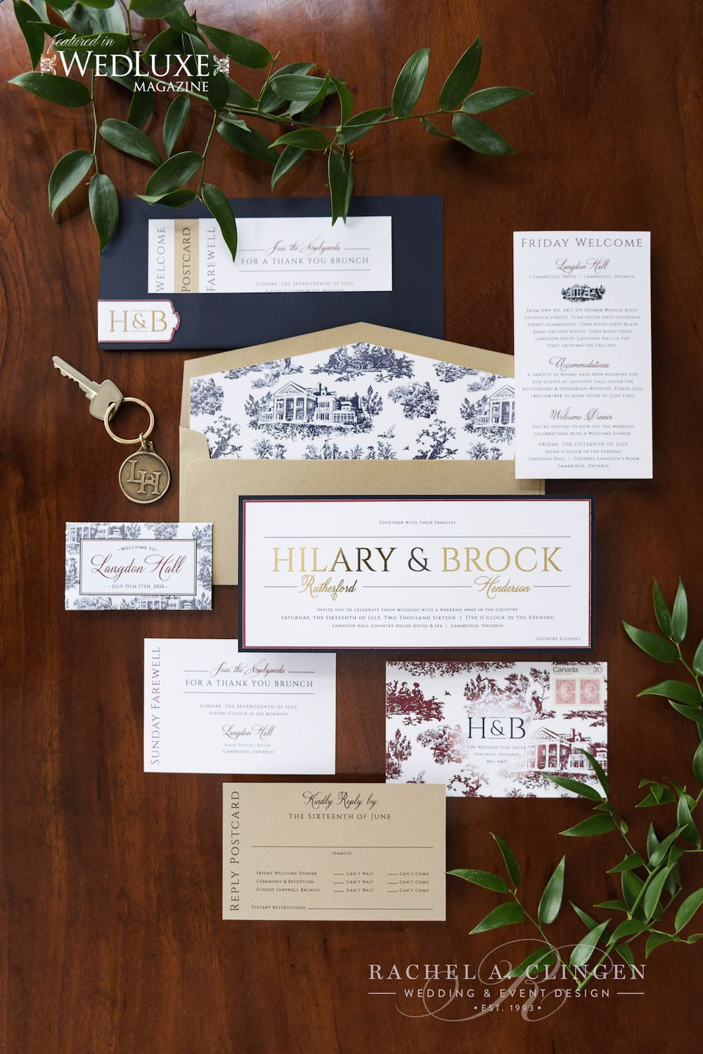 langdon hall wedding a weekend to remember invitations r s v p