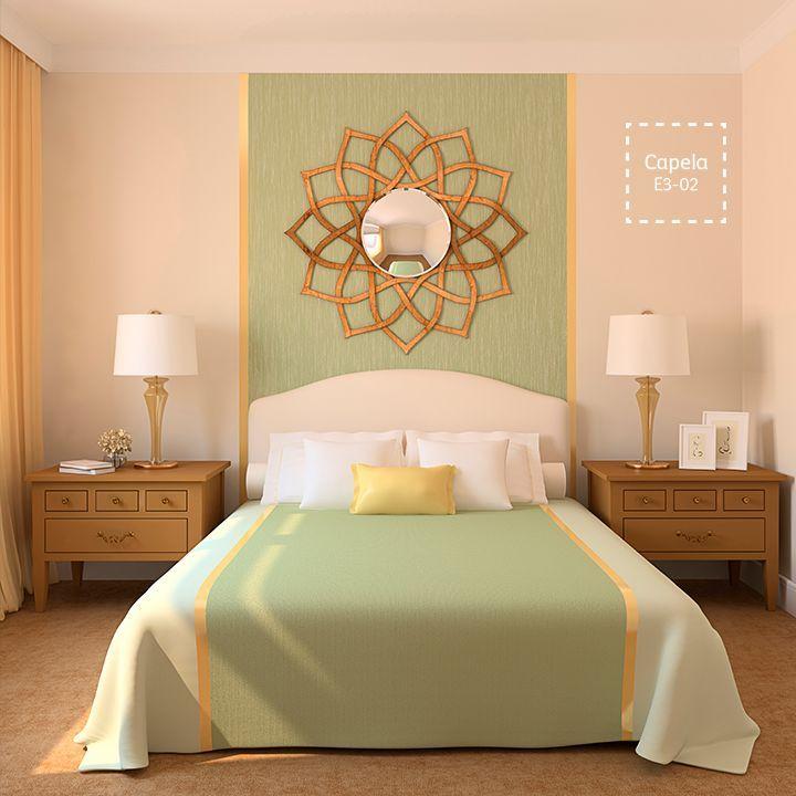 El color transformar tu cuarto en un espacio elegante y - Pintar dormitorio principal ...