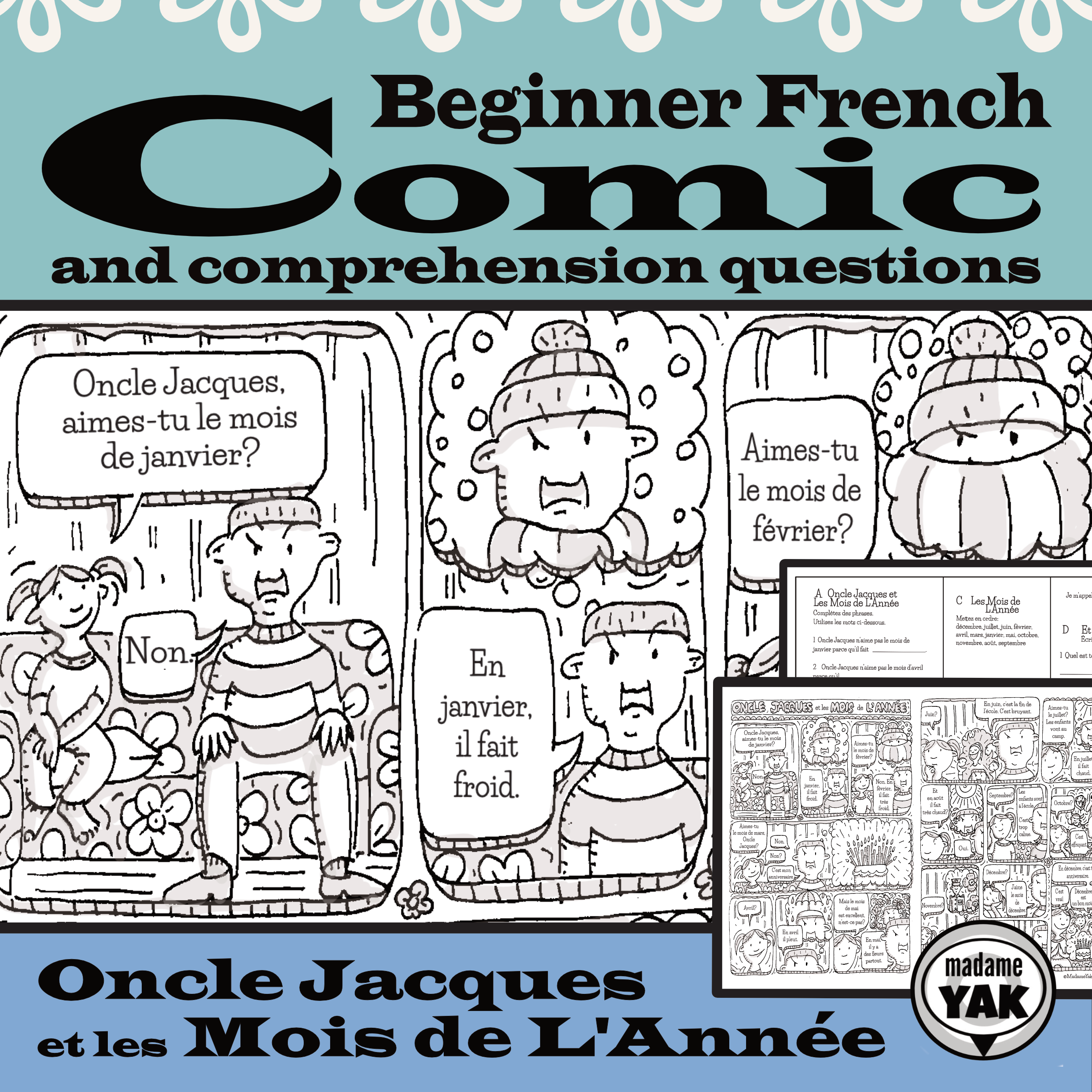 Boost Reading Comprehension With A Comic That Shows The