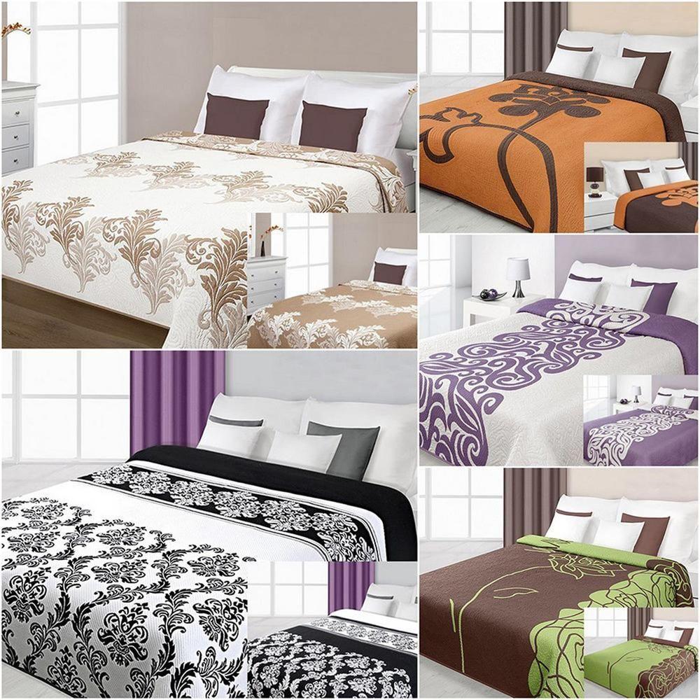 Details zu Bettüberwurf 2 seitig 170x210 Baumwolle Polyester ...