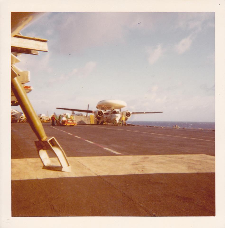 E-1B Willy Fudd. VAW-121 | CV-42 USS Franklin D. Roosevelt ...