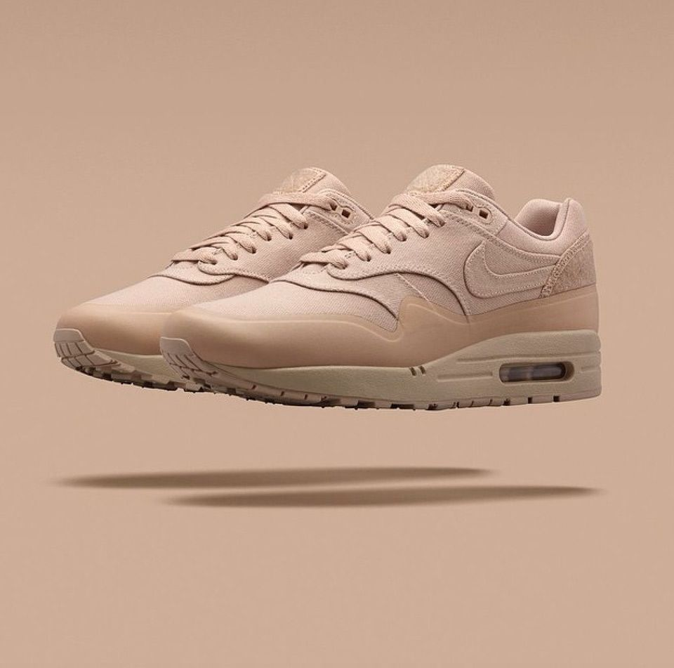 nike air max 1 patch beige paint