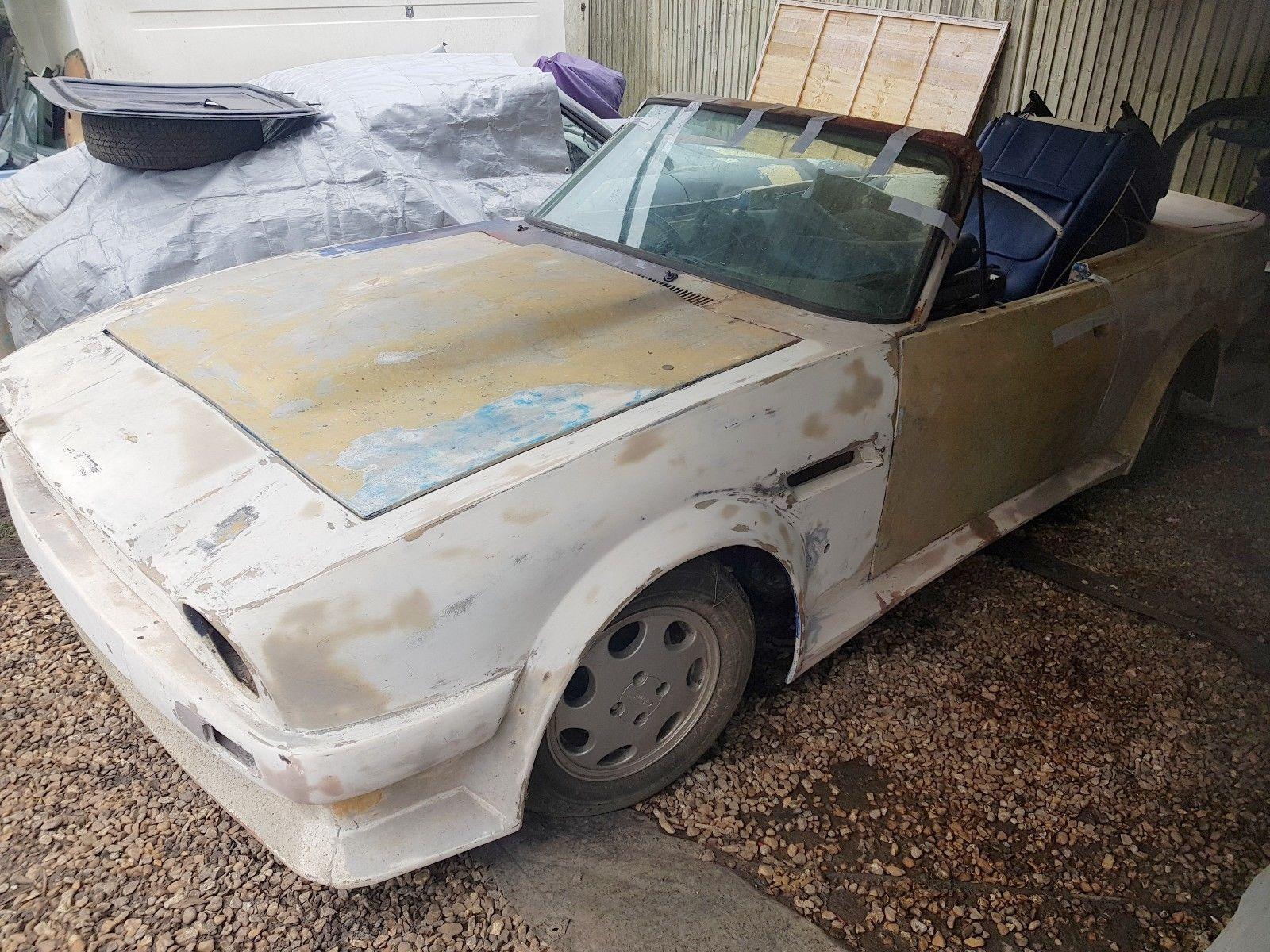 Aston martin v8 vantage volante replica based on ford capri with 2 9