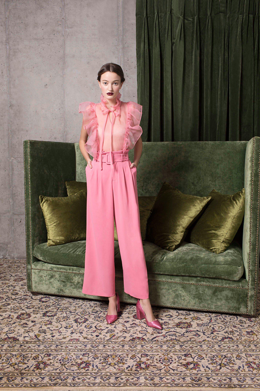Alice + Olivia Pre-Fall 2018 Fashion Show | Conjuntos