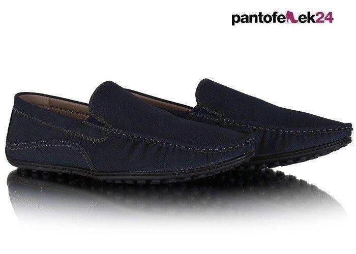 Wyprzedaz Meskie Polbuty Mokasyny A5 2 M5 Tp036 Blue Dress Shoes Men Loafers Men Oxford Shoes