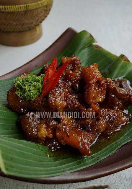 Diah Didi S Kitchen Krengsengan Daging Jawa Timur Resep Daging Sapi Resep Daging Resep Makanan Asia
