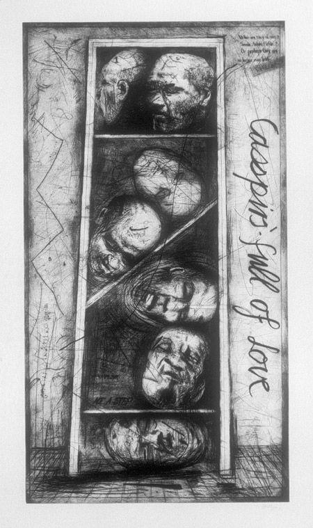 Casspirs Full of Love, 1989–2000  William Kentridge (South African, born 1955)…